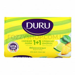 Мыло Duru 1+1 Свежий лайм и сладкий ананас