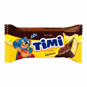 Пирожное Konti Тими со вкусом банана