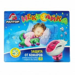 Комплект от комаров Раптор для детей Ликвид 30 ночей