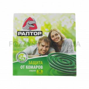 Спираль от комаров Раптор без запаха