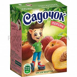 Сок Садочок персиковый т/п