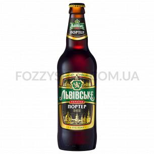 """Пиво """"Львівське Портер"""" темное"""