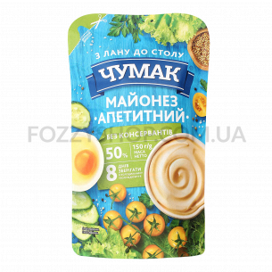 Майонез Чумак Аппетитный 50% д/п