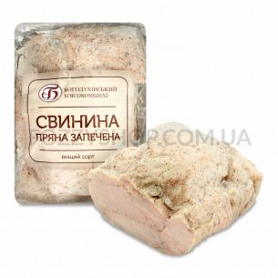 Свинина Богодуховській МК пряная запеченая в/с