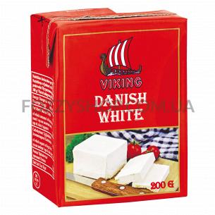Продукт сырный Viking Danish white 50% т/п