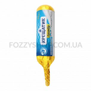 Мороженое Хрещатик золотой стандарт, пломбир в сливочной глазури