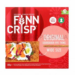 Сухарики Finn Crisp Oringinal taste ржаные широкие