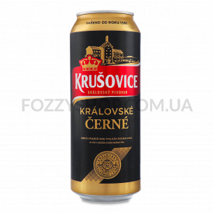 Пиво Krusovice Cerne темное...