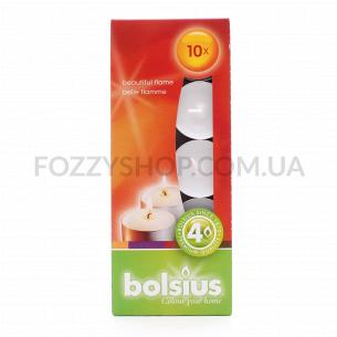 Набор свечей чайных Bolsius 10шт