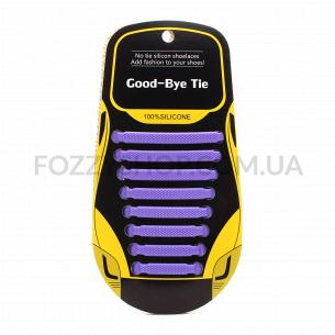 Набор Шнурки для обуви силиконовые 8шт в ассортименте