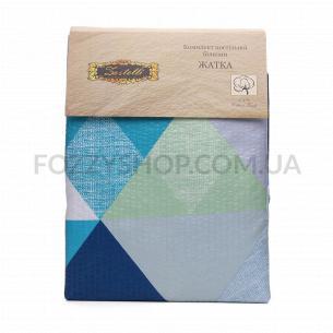 Комплект постельного белья Ваш текстиль евро жатка
