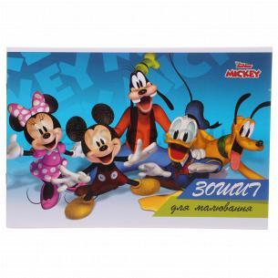 Тетрадь для рисования Тетрада Disney глитер 20 листов