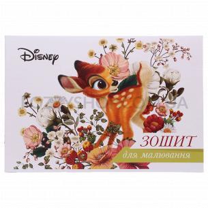 Тетрадь для рисования Тетрада Disney с перфорацией 10 листов