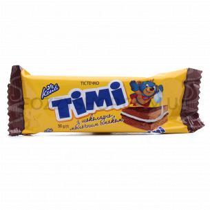Пирожное Konti Тimi с шоколадно-молочным вкусом