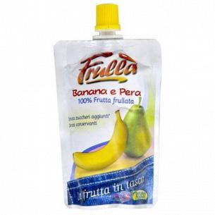 Пюре фруктовое Frulla груша-банан без сахара, без консервантов
