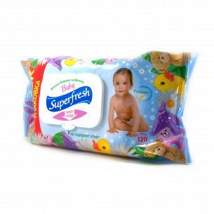 Салфетки влажные Superfresh Для детей и мам