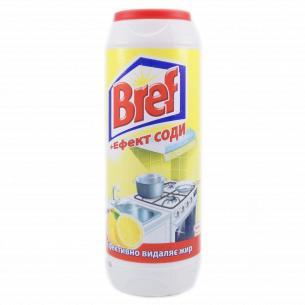 Порошок чистящий Bref Лимон+сода