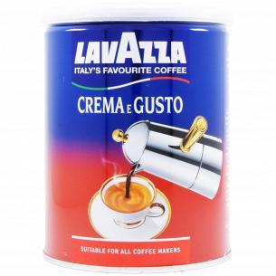 Кофе молотый Lavazza Crema e Gusto ж/б