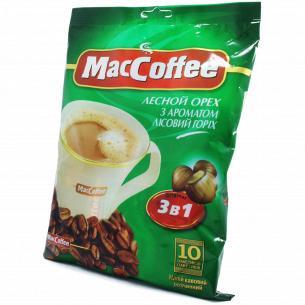 Напиток кофейн MacCoffee Лесной орех сливк и сахар