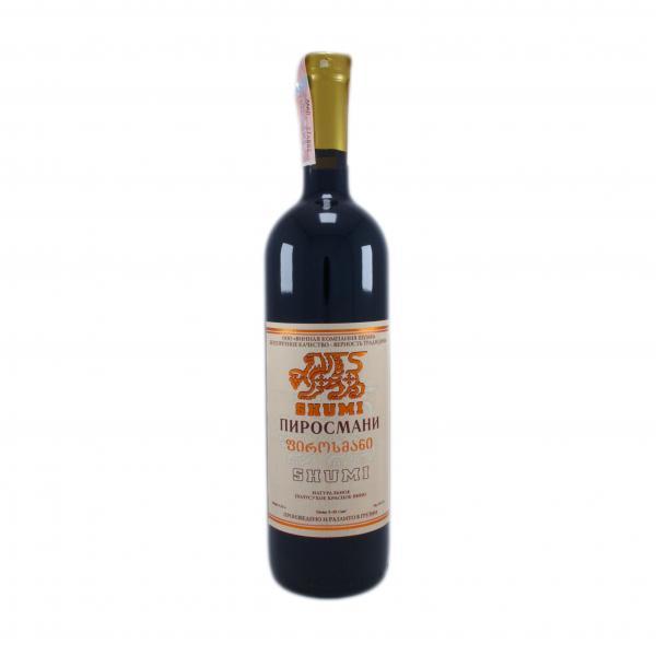 Вино Шуми Пиросмани красное полусухое
