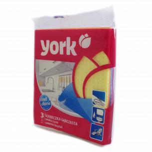 Тряпка York губчатая