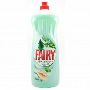 Средство для мытья посуды Fairy Plus Чай мята