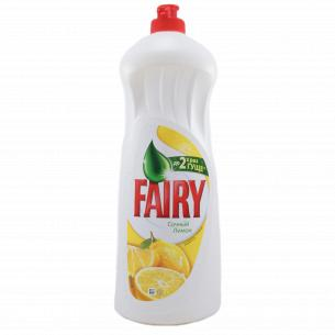 Средство для мытья посуды Fairy Plus Лимон 1л