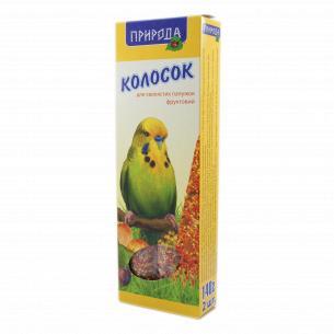 Корм для попугаев Колосок фруктовый