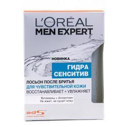 Лосьон после бритья L`Oreal Гидра Сенсетив Для чувствительной кожи