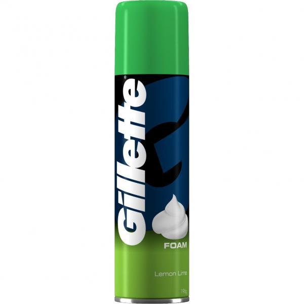 Пена для бритья Gillette Лимон