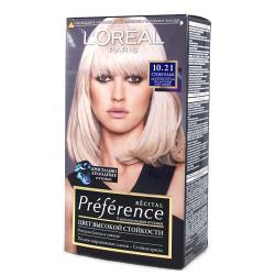 Краска для волос  L`Oreal RECITAL Preference тон 10.21
