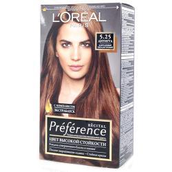 Краска для волос  L`Oreal RECITAL Preference тон 5.25