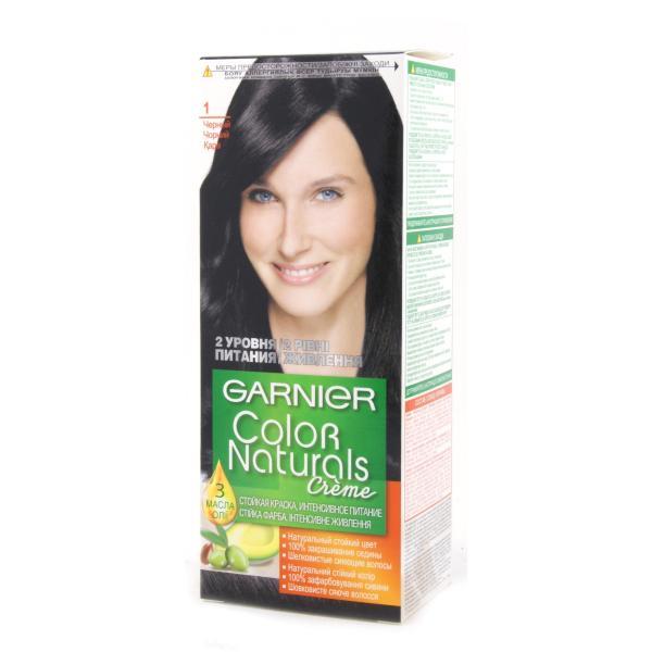Краска для волос Garnier Color Naturals тон 1