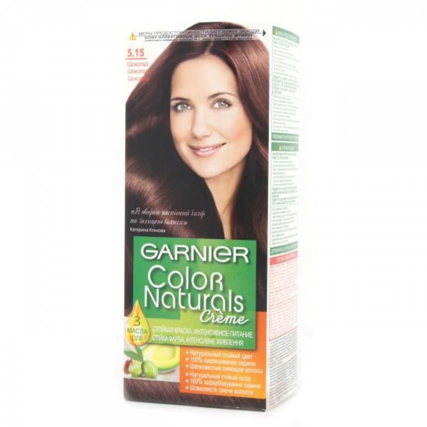 Краска для волос Garnier Color Naturals тон 5.15
