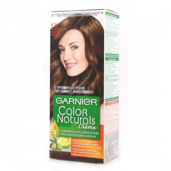 Краска для волос Garnier Color Naturals тон 6.34