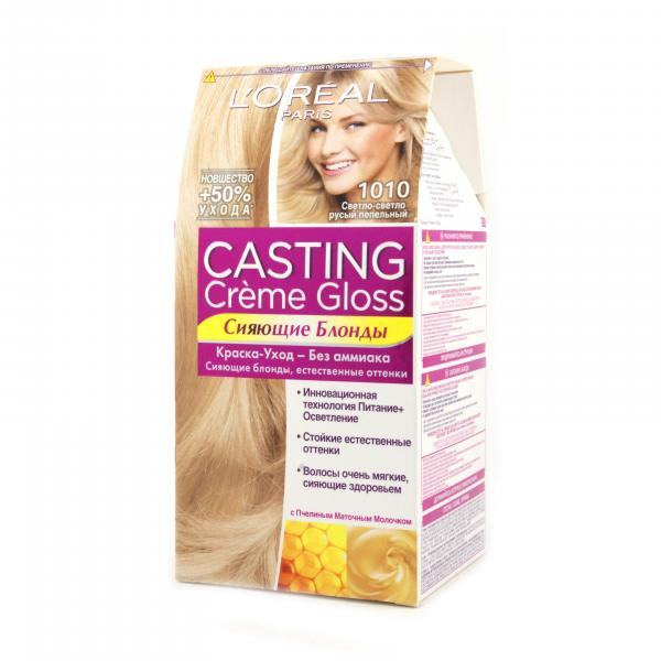Краска для волос L`Oreal CASTING Creme Gloss тон 1010