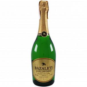 Вино игристое Bazaleti белое брют