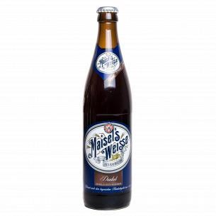 Пиво Maisel`s Weisse Dunkel солодовое темное