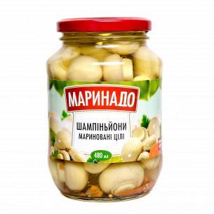 Грибы Маринадо шампиньоны маринованные