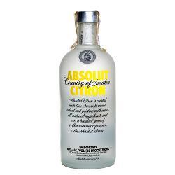 Водка Absolut Citron