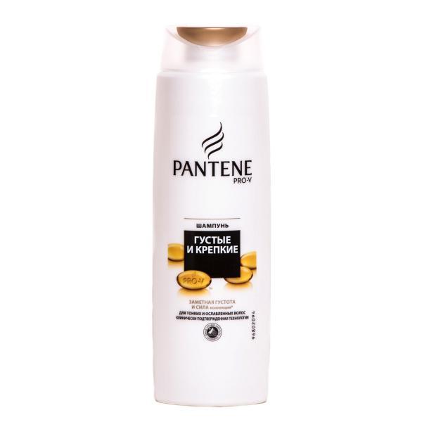 Шампунь Pantene Густые и крепкие волосы