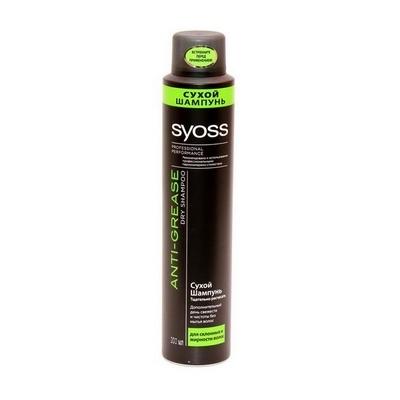 Сухой шампунь для волос Syoss Anti Grease