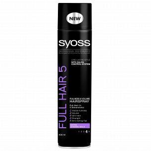 Лак для укладки Syoss Full Hair 5