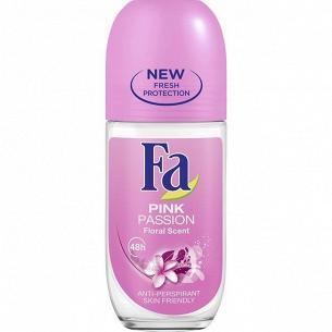 Дезодорант-ролик Fa Розовый рай стекло