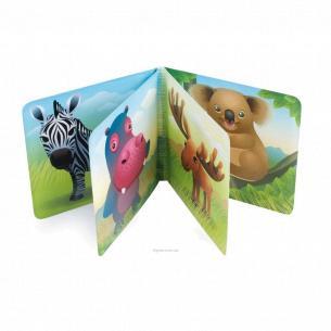 Игрушка-книжечка мягкая пищалка «Цветная ферма»