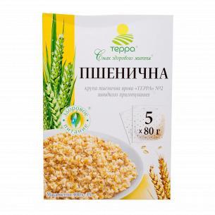 Крупа пшеничная Терра яровая быстрого приготовления