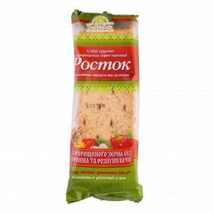 Хлебцы УкрЕкоХліб Росток с зерен пшеницы с сладким перрцем и зеленью