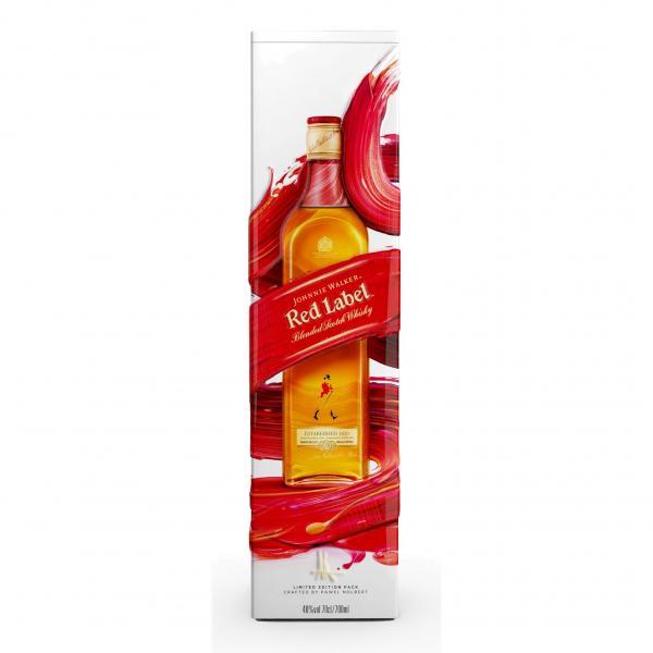 Виски Johnnie Walker Red Label (в металлической коробке)