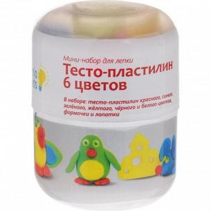 Набор для лепки Genio Kids Тесто-пластилин 6 цветов TA1065