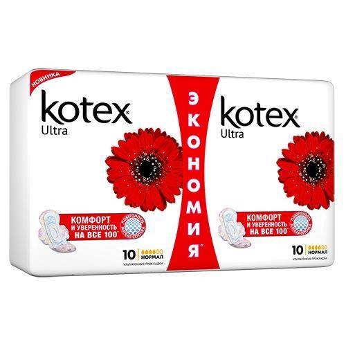 Прокладки гигиенические  Kotex  Ultra Normal Plus Duo